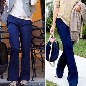 Madewell widelegger jeans or crop pants